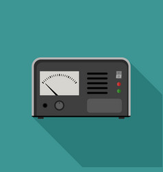 electric tester icon vector image vector image