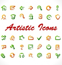 Original icons vector