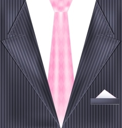 abstract gray suit vector image