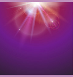 abstract space background with beams on colored vector image vector image