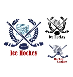 Ice hockey symbol vector