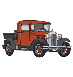 Old pick-up vector