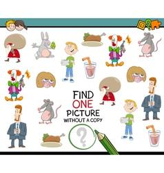 preschool educational activity vector image vector image