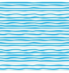Abstract blue wave seamless pattern vector