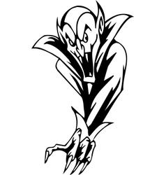 vampire - halloween set - vector image