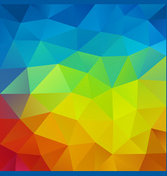 abstract triangular colorful mosaic background vector image