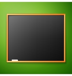 blackboard on the wall vector image