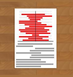 Data statistics document vector