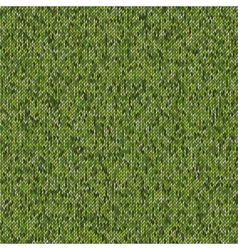 Seamless knitted pattern Woolen cloth vector image