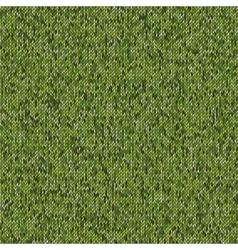 Seamless knitted pattern woolen cloth vector