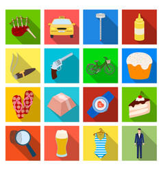 Tourism restaurant medicine and other web icon vector