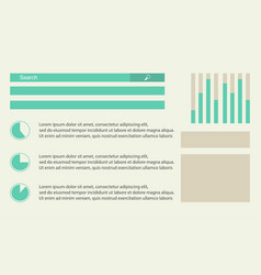 Background graphic diagram business infographic vector