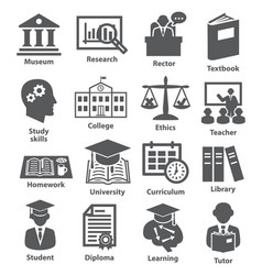 Business management icons pack 39 vector