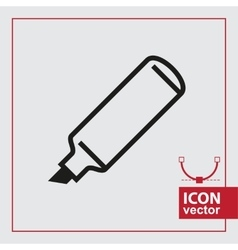 Marker Simple Icon vector image vector image