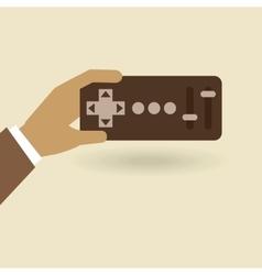 remote control design vector image