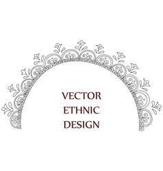 Tattoo henna pattern vector