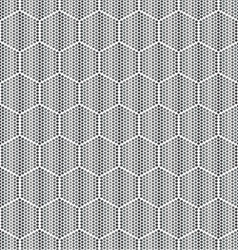 Honeycombs for honey geometric seamless pattern vector