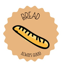 Bread design vector