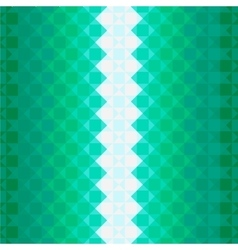 Colorful pattern with green squares vector image vector image