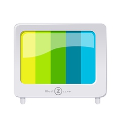 icon television vector image