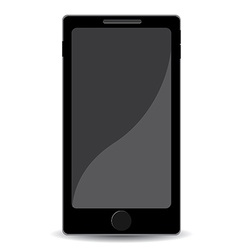 Mobile smartphone vector image