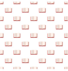 Open book pattern vector