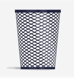 Wire holder basket office organizer box vector