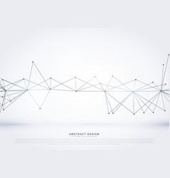 Stylish wireframe mesh background vector