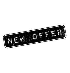 New offer rubber stamp vector