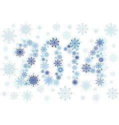 2014 snow stars vector