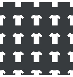 Straight black t-shirt pattern vector