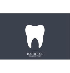 Tooth logo template tooth icon medical vector