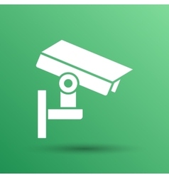 camera cctv icon sign graphic theft wireless vector image vector image