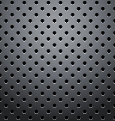 Grid round dots vector