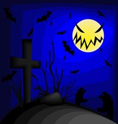 wallpaper halloween vector image vector image