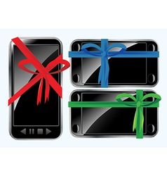 Phones as gifts vector