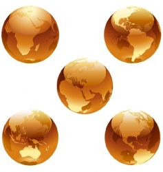 earth honey set vector image