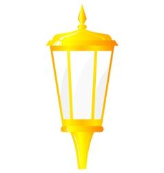 golden lantern vector image vector image