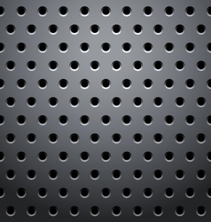grid round dots hexagon vector image