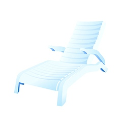 icon chair vector image vector image