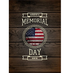 Memorial day badges logos and labels for any use vector