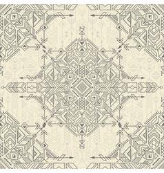 vintage tribal background vector image vector image