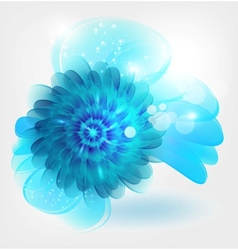 water flower vector image