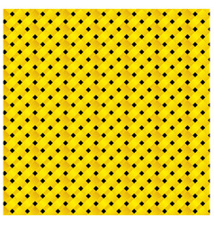 Yellow and black figure background icon vector