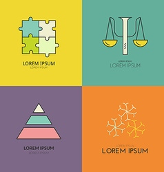 Psychology logo vector