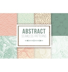 Abstract seamless patterns se textures vector