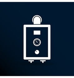Boiler gas icon water symbol household equipment vector