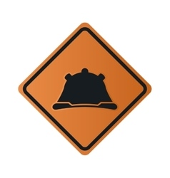 Construction helmet icon sign vector