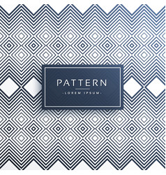 Modern zig zag line pattern background vector