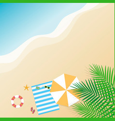 summer background season vacation weekend vector image vector image